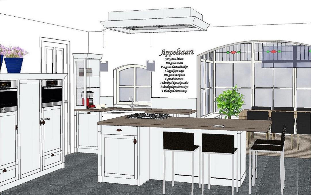 Keuken tekenen een professioneel 3d ontwerp van jouw for Ontwerp je keuken in 3d